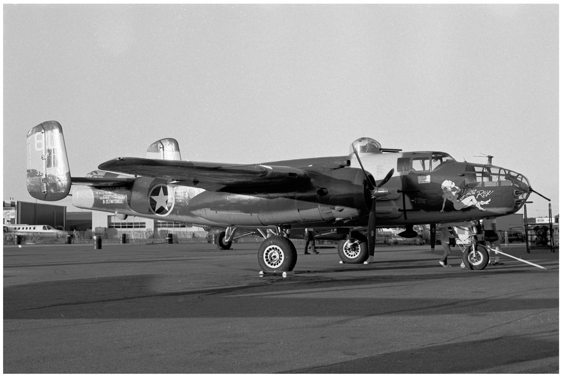 "B-25J ""Mitchell"" Medium WWII Bomber"
