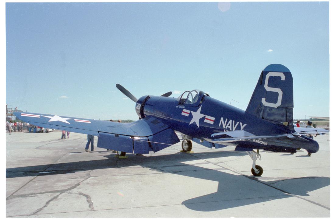 FG-1D Corsair Tail