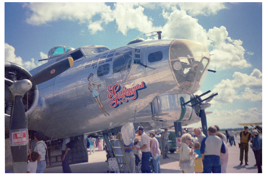 B-17G Sentimental Journey nose