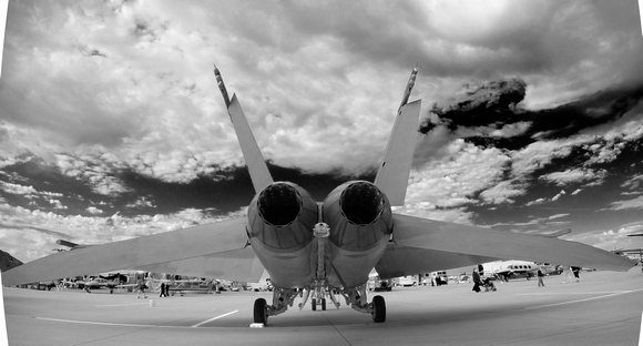 Super Hornet Engine Exhaust