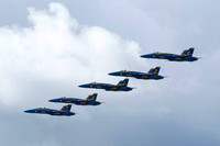 Blue Angels 5 In A Line