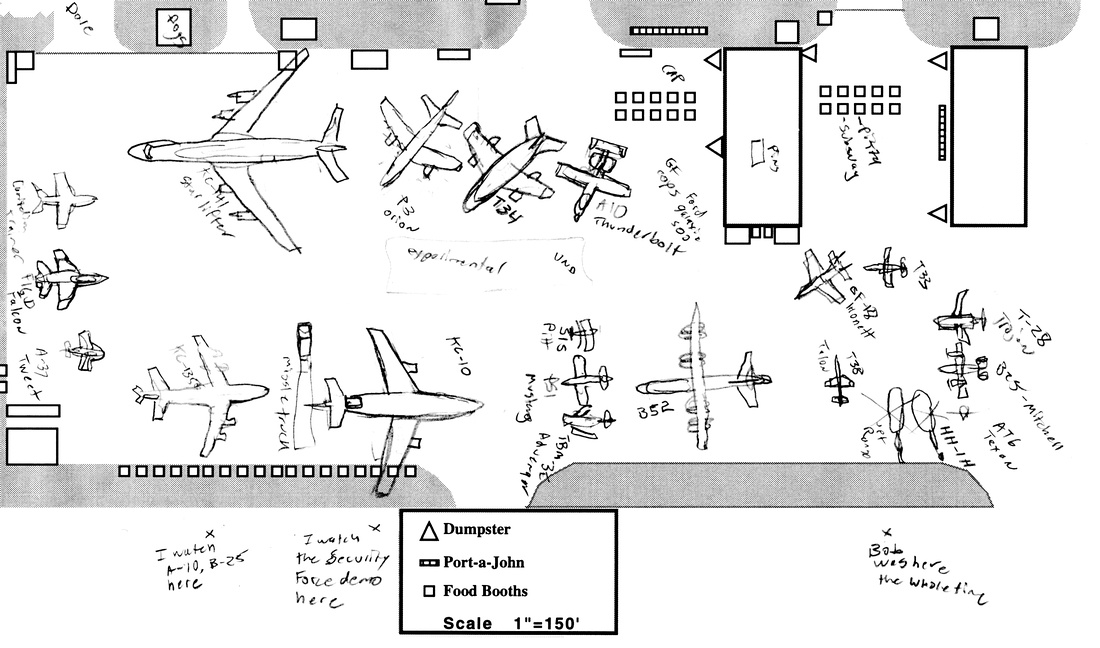 1996 GFAFB Friends & Neighbors Day map