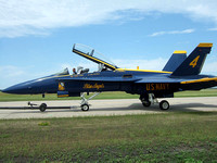 2525 Blue Angels tow