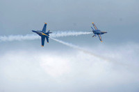 Blue Angels Solo Planes Cross