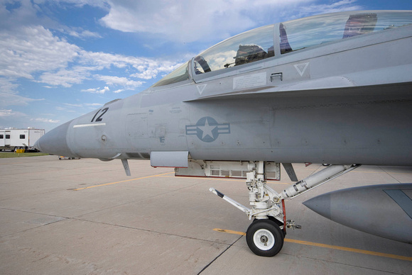 Super Hornet Cockpit and Landing Gear