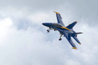 Blue Angel Comes Around Wtih Gear Down
