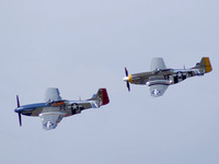 Mustangs Fly-by
