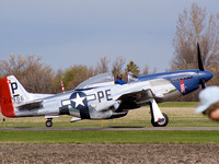 P51 Mustang- knock off my hat