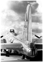 1091.18a1 B-17G Flying Fortress tail, port side, vertical
