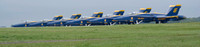 The Blue Angels Parked