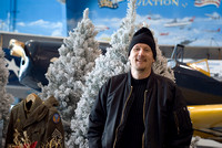 Craig With Flocked Trees